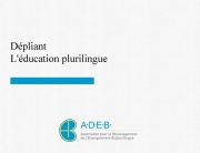 Educationplurilingue